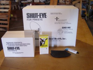 shut-eye packaging